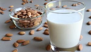 Make some  almond milk today.