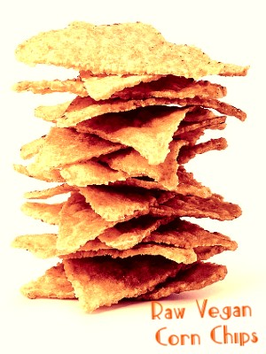 Raw Vegan Chips for Dips Recipe