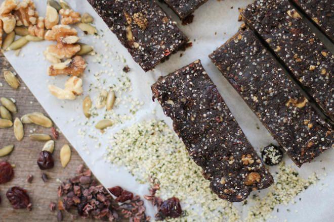 Chewy Superfood Hemp ProteinBars