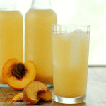 Probiotic Peaches And Cream Soda… It's Delicious!